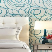 Home Design: 4 Hand-Printed Wallpapers Tips