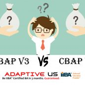 How different is CBAP V3 from CBAP V2?