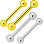 Tongue Ring Barbell Options