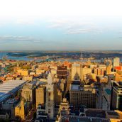 Start Your Day in the City from the Observation Deck at One Liberty Place